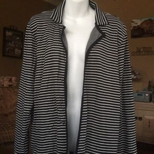 Lucky Brand jacket xl navy/white